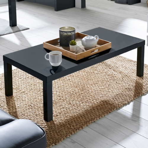 AXE 113  Coffee Table  (Dark Slate Grey)By Denelli